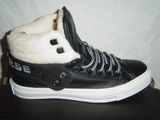 Mens Womens Unisex Converse All Star Mid Trainers Boots Padded