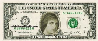 Journey Band SET OF 6 CELEBRITY DOLLAR BILL UNCIRCULATED MINT US CURRENCY CASH