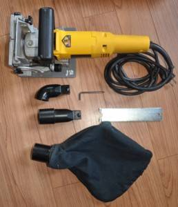 Dewalt DW682K Plate Biscuit Joiner Kit Heavy Duty 6 5 Amp w Case More