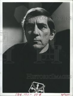 1972 Press Photo Actor Jonathan Frid in The Devils Daughter