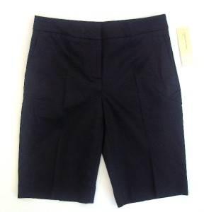 Jones New York Sport Stretchy Bermuda Shorts Black Size 14