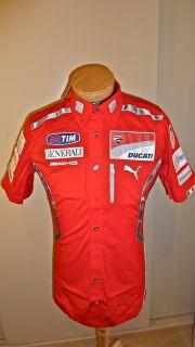 2011 Ducati Team Shirt Rossi Hayden Size XS s M L New