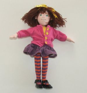 Junie B Jones Plush Rag Doll Dress Up Stupid Smelly Bus School Outfit 2000