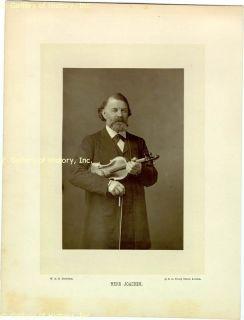 Joseph Joachim Autograph Letter Signed 04 11 1900