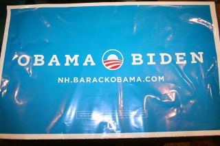 Barack Obama Joe Biden Official 2012 President Campaign All Weather Yard Sign NH
