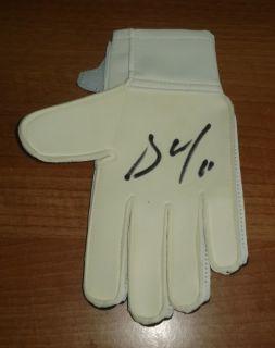 David de GEA Genuine Hand Signed Autograph Goalkeeper Glove Manchester United