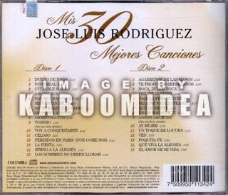 2CDs Jose Luis Rodriguez Mis 30 Mejores Canciones New Exitos 2 CD S