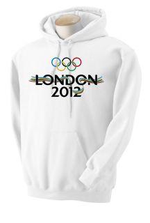Olympic Hoodie and Sweatshirt London 2012 Shirts by Rock s M L XL 2XL 3XL 3