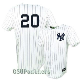 Jorge Posada New York Yankees Home Replica Jersey YOUTH SZ M XL
