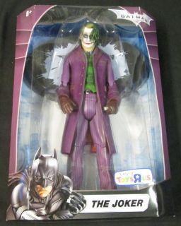 "Joker Figure Batman The Dark Knight Series 12"" Version Mattel 2008"