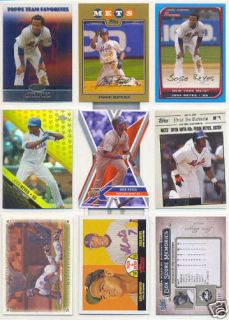 Huge Jose Reyes 70 Card 45 Different Lot Mets