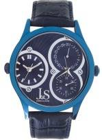 Joshua and Sons JS 06 01MEN's Dual Time Zone Watch