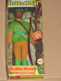 70's Mego Robin Hood His Merry Men Doll Figure Boxed