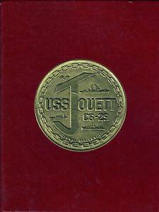 USS Jouett CG 29 Westpac Deployment Cruise Book Year Log 1984