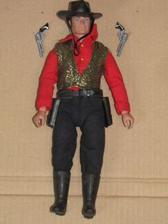 Vintage 70's Marx Gabriel Lone Ranger The Last Change Saloon Doll Action Figure