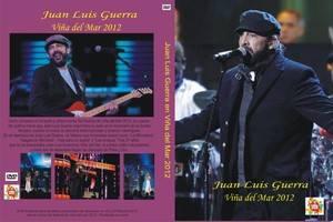 Juan Luis Guerra Vina del mar 2012 DVD ULTIMA NOCHE FESTIVAL CHILE