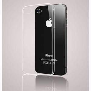 Clear Crystal Air Jacket Ultra Thin Hard Case Cover Skin for iPhone 4 4G 4GS 4S