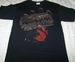 Judas Priest British Steel Shirt Medium Vintage Style Band Concert Tour