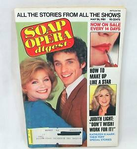 Soap Opera Digest May 26 1981 Judith Light Mark Lamura Ann Flood Kathleen Noone
