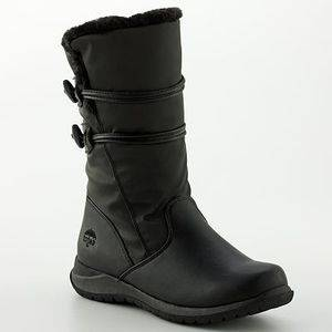 New Women Totes Judy Midcalf Black Waterproof Thermolite Winter Boots 9 W