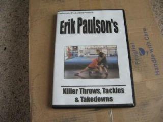 Killer Throws Erik Paulson DVD MMA bjj Judo Grappling