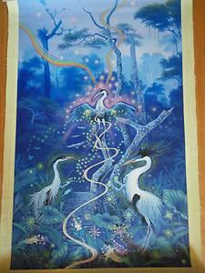 Ayahuasca Visionary Art Juan Carlos Taminchi's Original Painting
