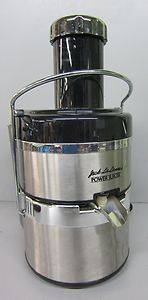 Jack Lalanne's Power Juicer Model E 1188 La Lanne'S