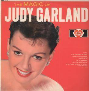 Judy Garland Magic of LP 12 Track Mono Pressing But Sleeve Has Light Wear and Di