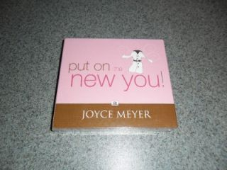 JOYCE MEYER PUT ON THE NEW YOU 4 CD SET NEW SEALED