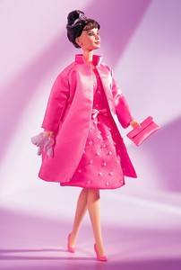 BARBIE CLASSIC EDITION AUDREY HEPBURN BREAKFAST AT TIFFANYS PINK PRINCESS NRFB