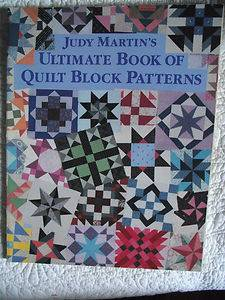 JUDY MARTINS ULTIMATE BOOK OF QUILT BLOCK PATTERNS QUILTING BOOK