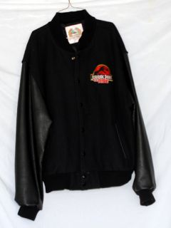 Jurassic Park Universal Studio Varsity Style Jacket