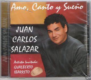 Juan Carlos Salazar AMO CANTO Y Suevo New CD