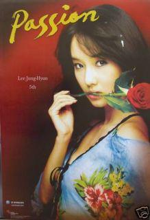 Lee Jung Hyun Passion Korean Promo Poster Sexy K Pop