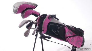 Xj Series Junior Golf Club Set Ages 5 8 Bag Woods Irons Putter RH i