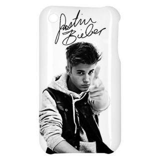 Justin Bieber Boyfriend Autograph iPhone 3G 3GS Hard Shell Case Cover