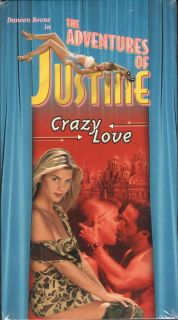 Adventures of Justine 5 New Crazy Love VHS Daneen Boone