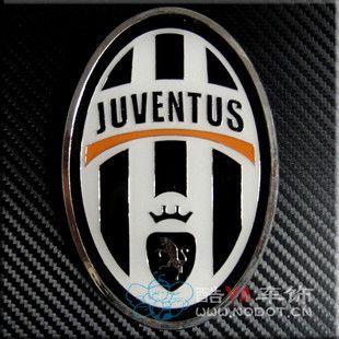 Car Front Grille Emblem Badge Juventus Football Club Logo