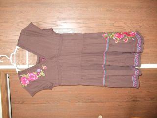 JWLA Love Light Joy Brown Dress XL