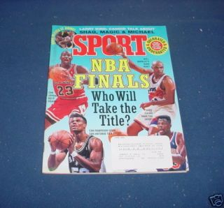 Sport Magazine June 1993 Michael Jordan Charles Barkley