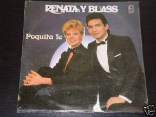Renata Y Blass Poquita FE Peerless SEALED LP