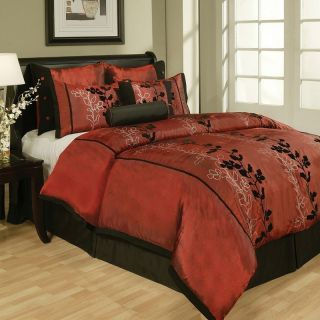 Inspired Queen Size Complete Bed in A Bag Comforter Set New