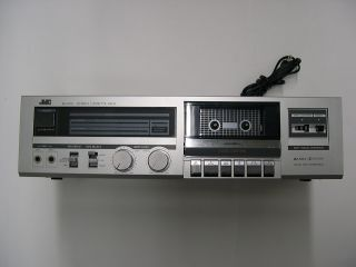 JVC KD V50 Stereo Cassette Deck Metal Tape Compatible Excellent