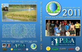 JUST RELEASED 2011 PDGA Am Worlds in Rochester NY Clash DVD Disc Golf