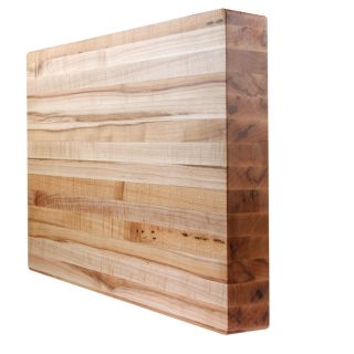 Kobi Butcher Blocks Maple Wood Cutting Board 14 x 10 x 1 Thick MADE IN