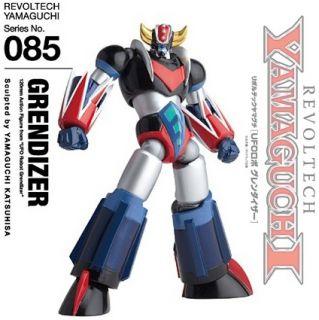 Robot Grendizer Action Figure 085 Yamaguchi Kaiyodo Goldorak
