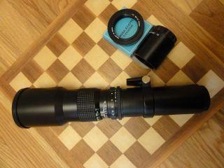 Kalimar 500mm Lens for Minolta Sony Alpha 2X Extender T Adapter Bundle