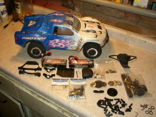 Team Associated SC10 4x4 Roller with EXTRAS 784695992207