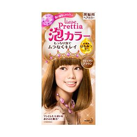 Kao Japan Liese Prettia Bubble Hair Color Kit Marshmallow Brown 57592C