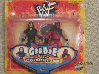1998 Jakks WWF WWE Grudge Match Undertaker vs Kane